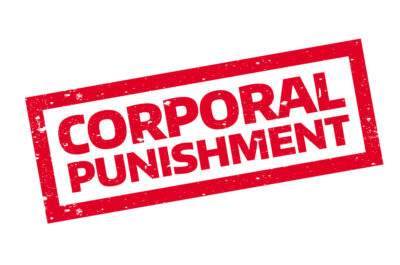 Corporal Punishment- Not a good strategy