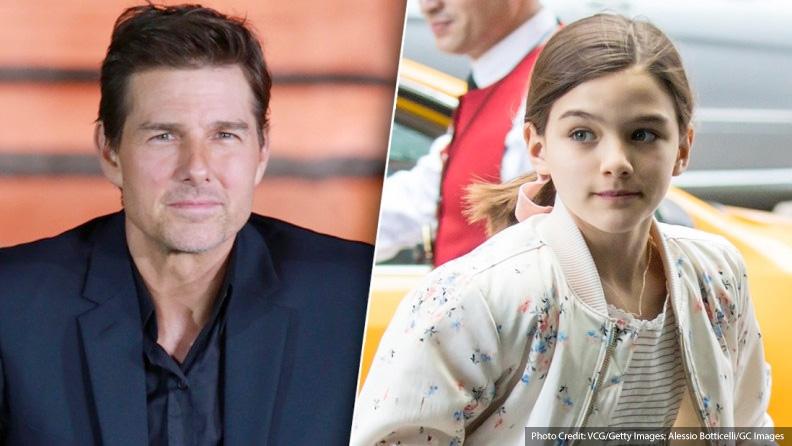 US report: Suri's 'secret plea to missing dad Tom Cruise'