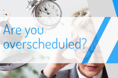 Are you overscheduled?