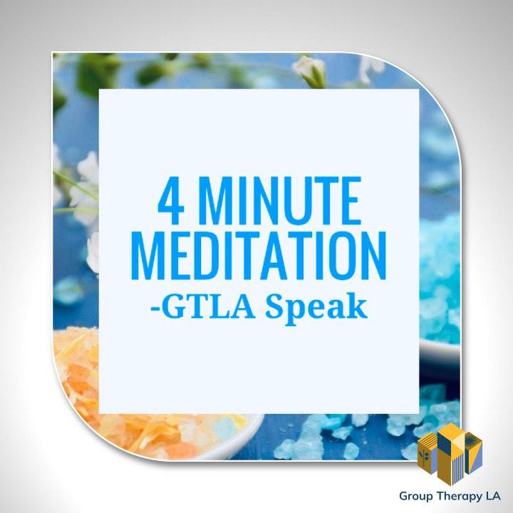 4 Minute Meditation