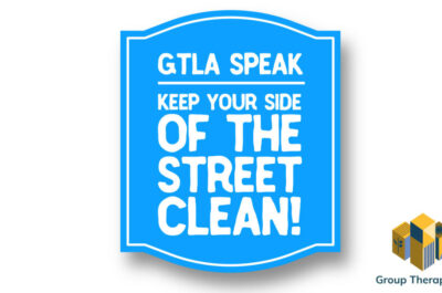 Keep your side of the street clean