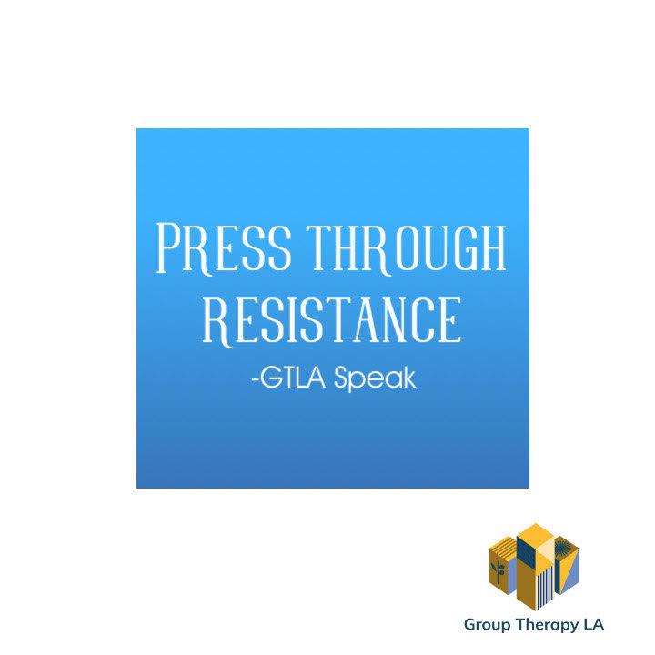 Press through resistance