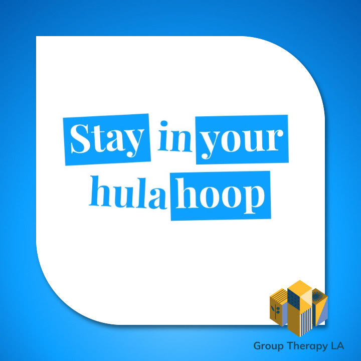Stay in your hula hoop