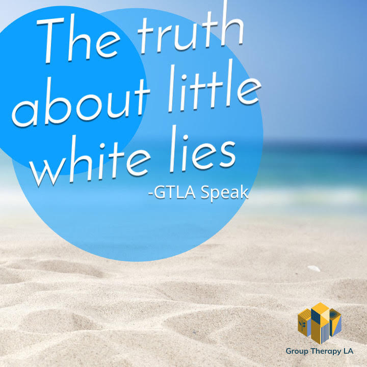 The truth about little white lies