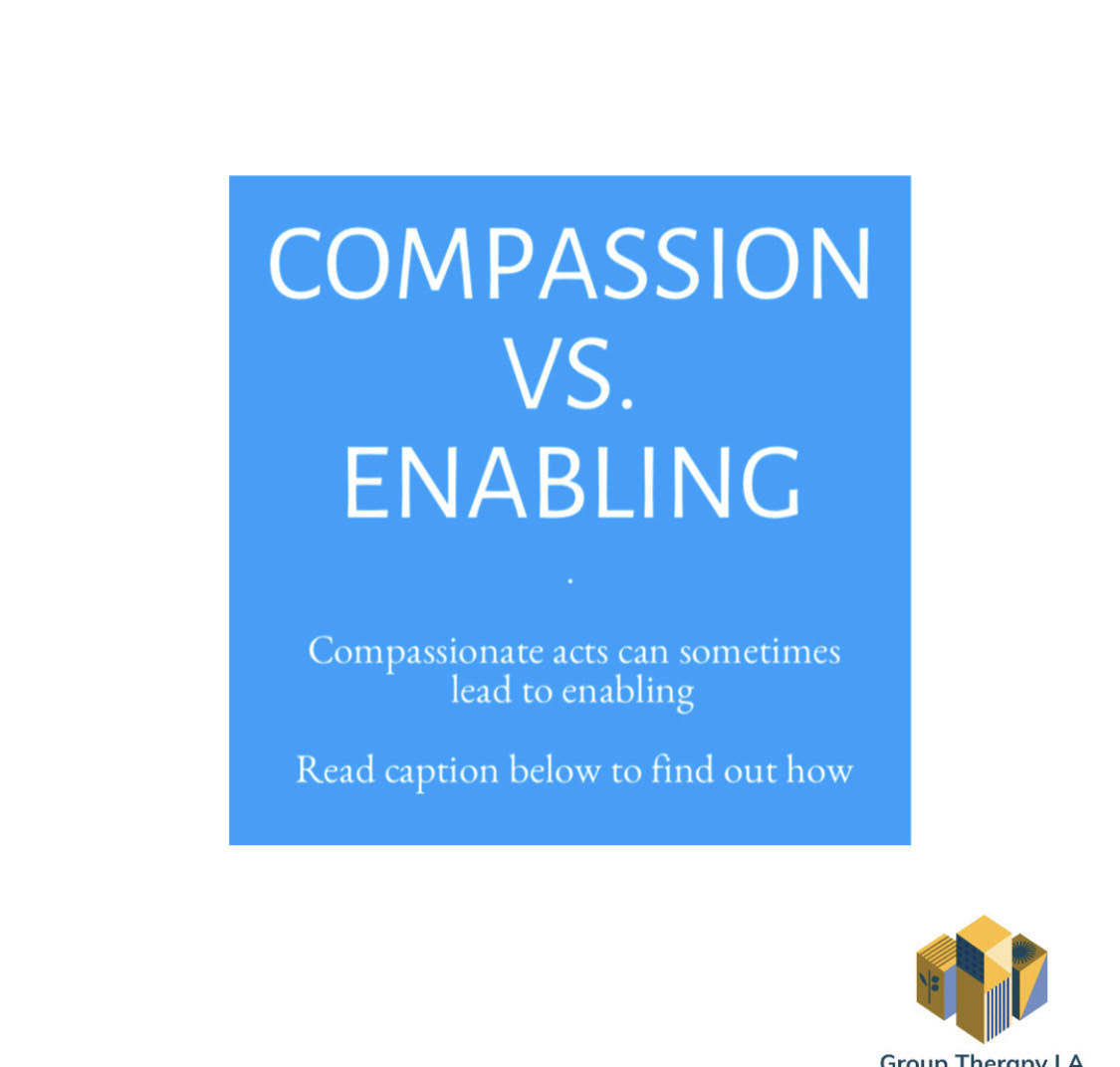 Compassion vs. Enabling