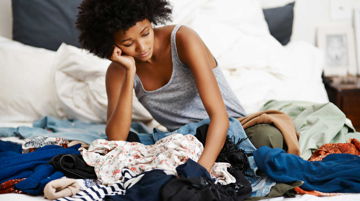 Is disorganization a sign of deeper emotional issues?