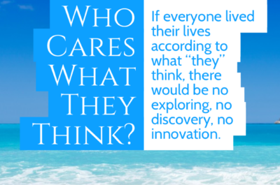 Who Cares What They Think?