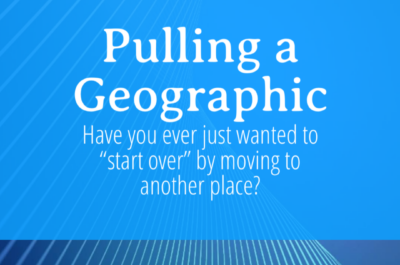 Pulling a Geographic